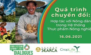 """""""Đối thoại trực tuyến: Hợp tác với Nông dân trong quá trình chuyển đổi hệ thống sản xuất thực phẩm – nông nghiệp """""""