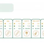 Hệ thống thực phẩm bền vững:  Bản đồ tăng trưởng sản lượng lương thực trên thế giới